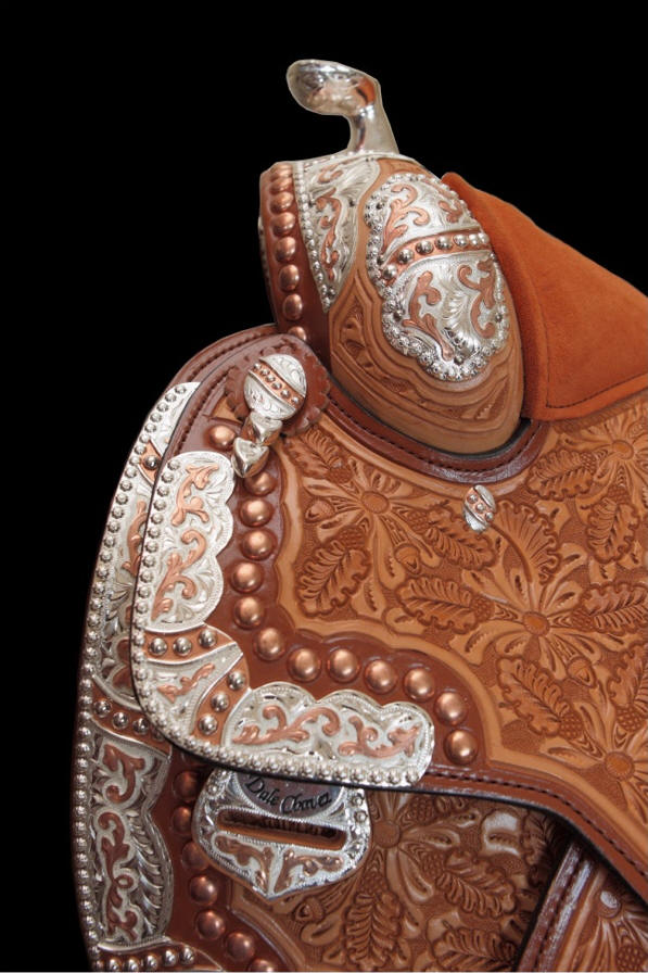 dale chavez western show saddles