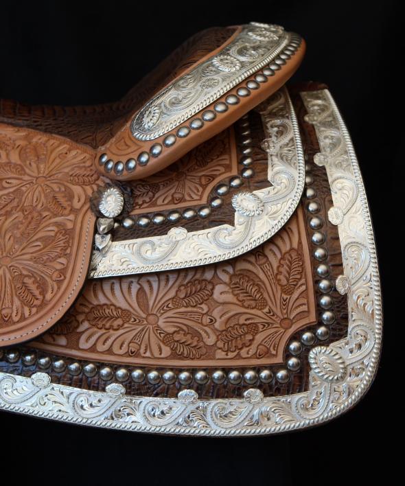 dale chavez western show saddle