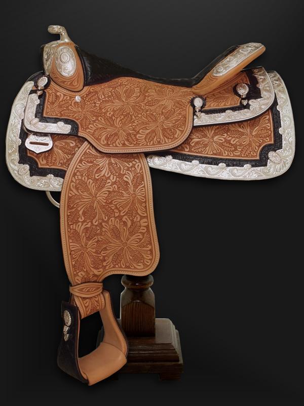 Western pleasure show saddles