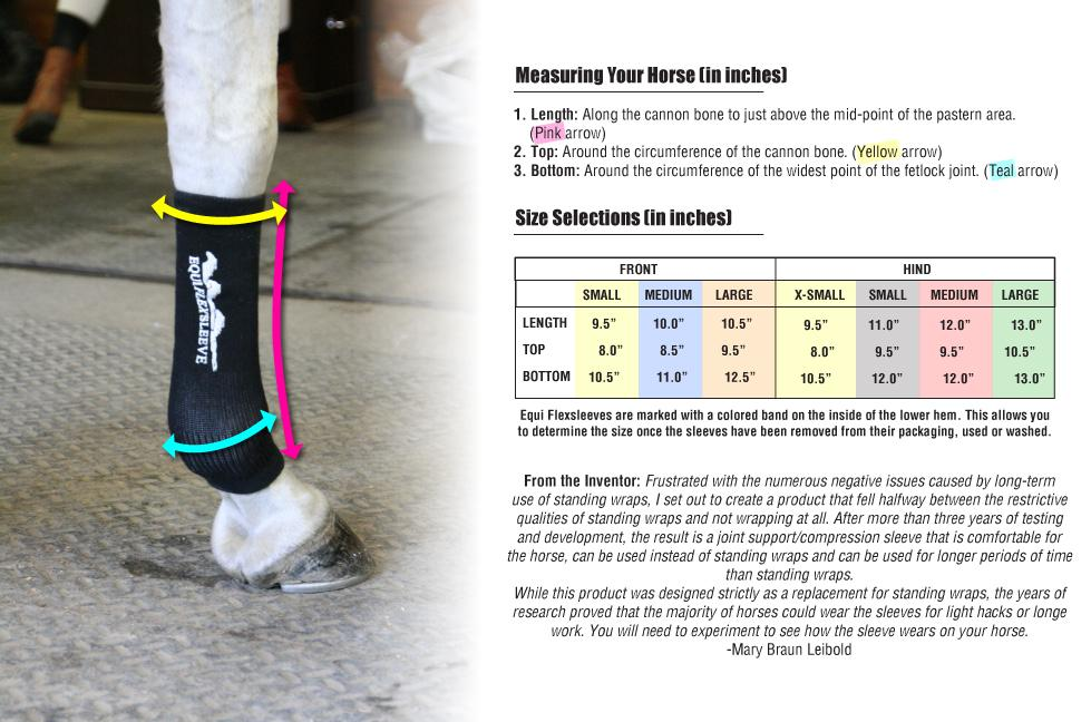 Equi Flexsleeves Prevents Swelling Up And Relieves