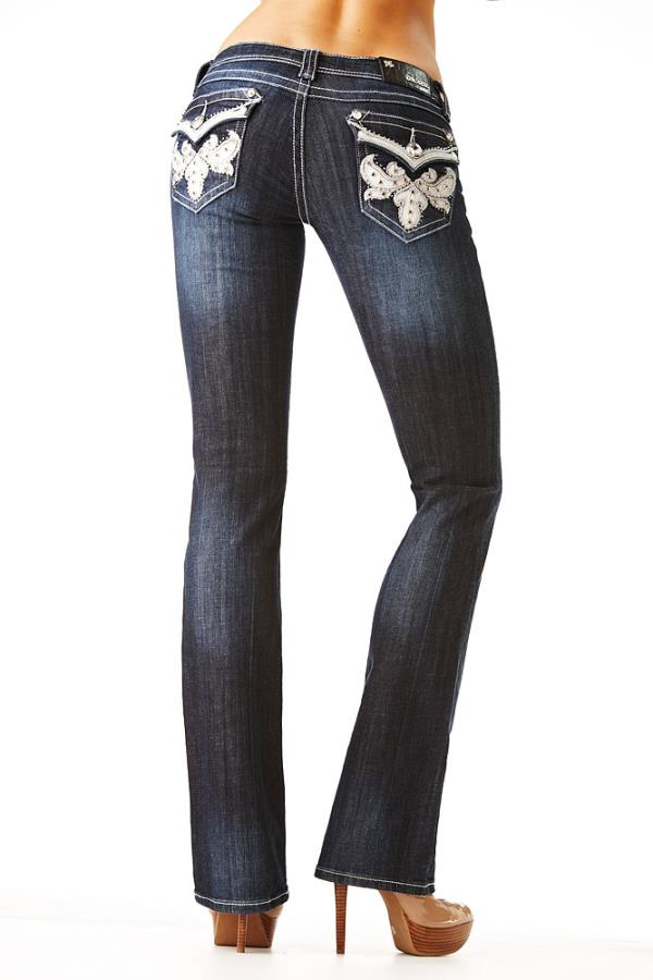 LADIES BLING JEANS