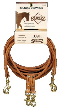View our Schutz Rounded Draw reins