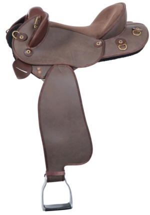 Horse Stock Western Swinging Fender Saddle cover FREE EMBROIDERY Purple