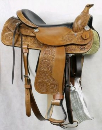 WESTERN DRESSAGE/ RANCH RIDING SADDLES