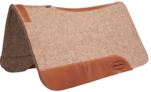 Mustang Contoured Wool Saddle Pad