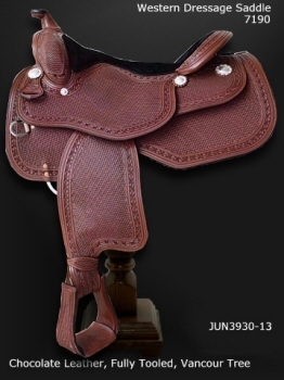 western dressgae saddle 7190
